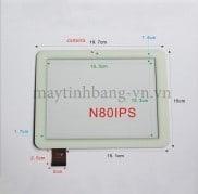 Cảm ứng máy tính bảng  Window N80 ips | N80 RK