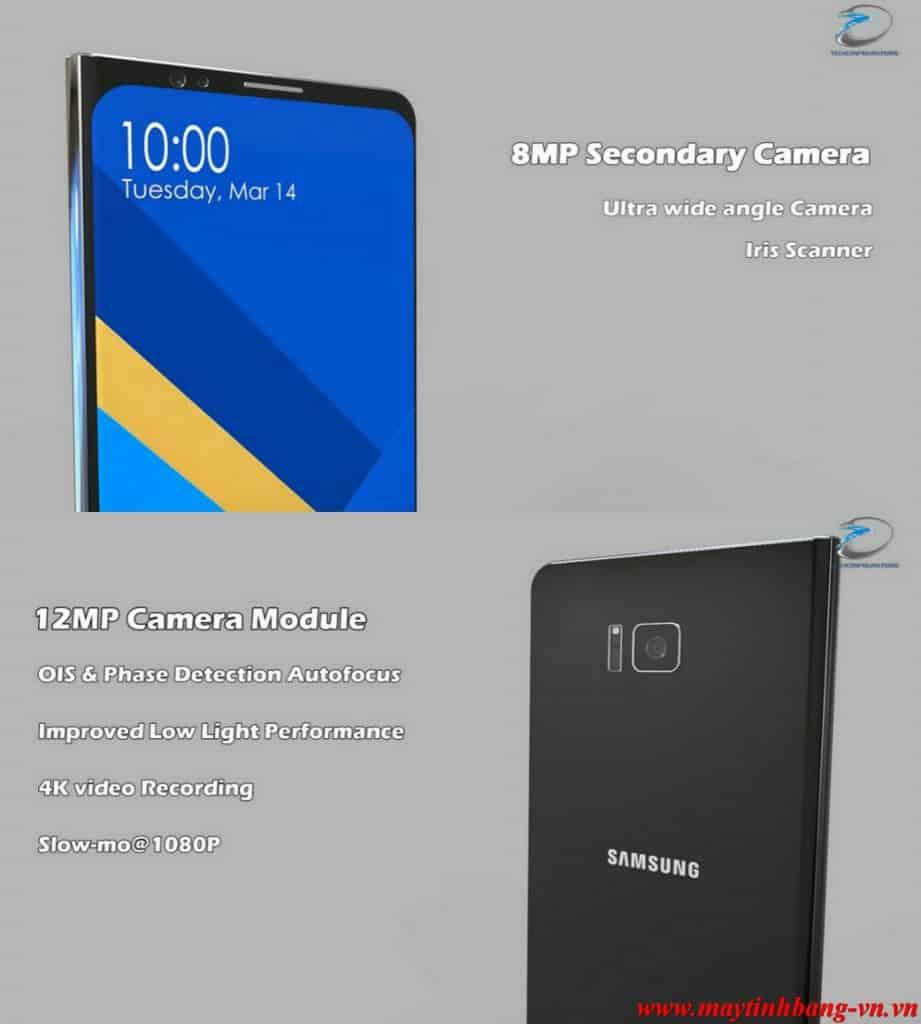 Camera cua Samsung Galaxy X
