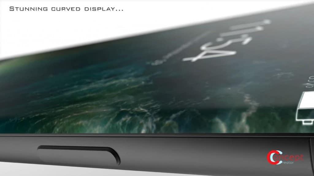Iphone 8 man hinh cong OLED