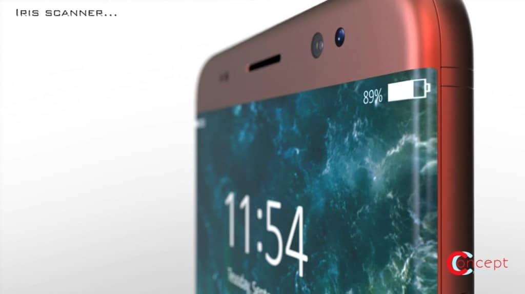 Cam bien mong mat Iphone 8