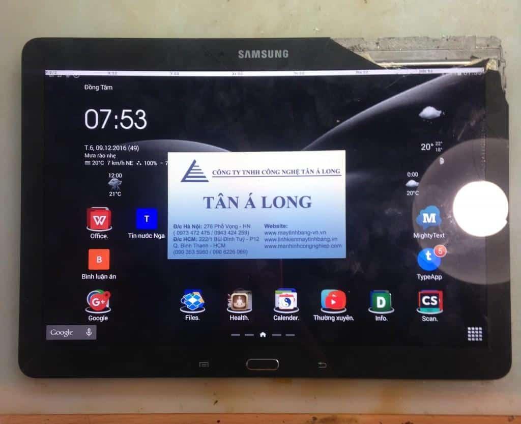 Samsung Galaxy P601 vo cam ung