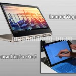 Cuộc chiến giữa Microsoft Surface Pro 3 và Lenovo Yoga 910