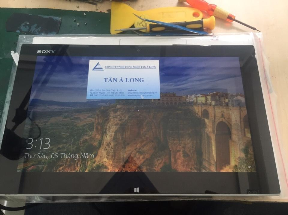 sony vaio tap 11 vo man hinh cam ung