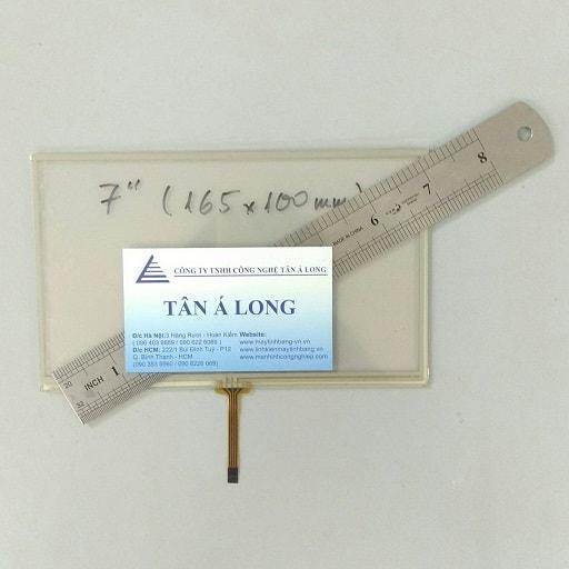Kích Thước Màn hình cảm ứng HMI 7 inch 165x100 mm