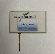Cảm ứng công nghiệp HMI 7 inch 164×100 mm ( 152×86 mm)