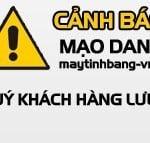 Cảnh báo về các website/ công ty ăn cắp, vi phạm  bản quyền giao diện website Maytinhbang-vn.vn