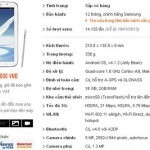 Máy tính bảng Galaxy Note 8.0 có thể bán với giá 12 triệu đồng tại Việt Nam