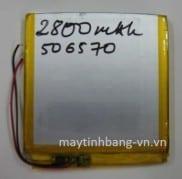Pin máy tính bảng 506570/2800mAh