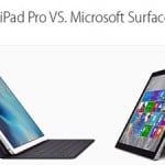 So sánh Apple iPad Pro với Microsoft Surface Pro 3