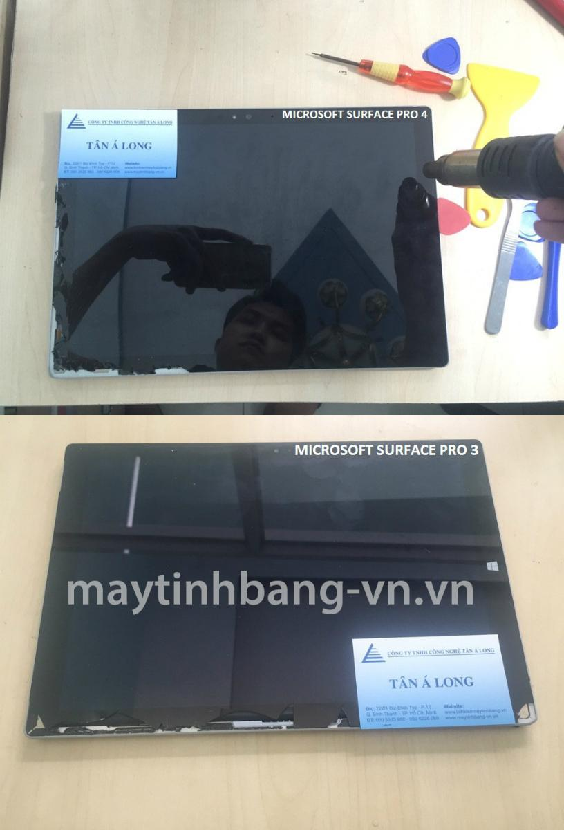 Surface Pro vo man hinh cam ung
