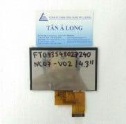Màn hình hiển thị HMI 4.3 inch FT043S48027240NC07 V02